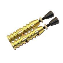 Двухзарядное мини устройство для запуска сигнала охотника (золотое)